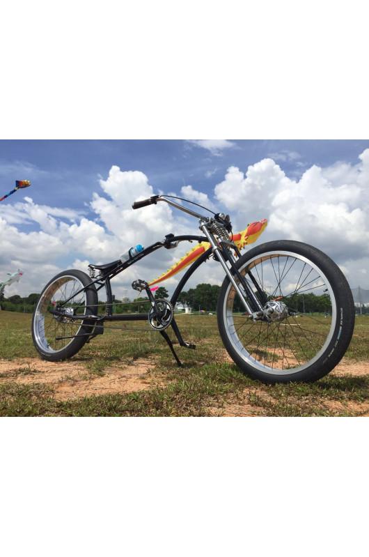 Béquille centrale vélo 26 ou 28 pouces