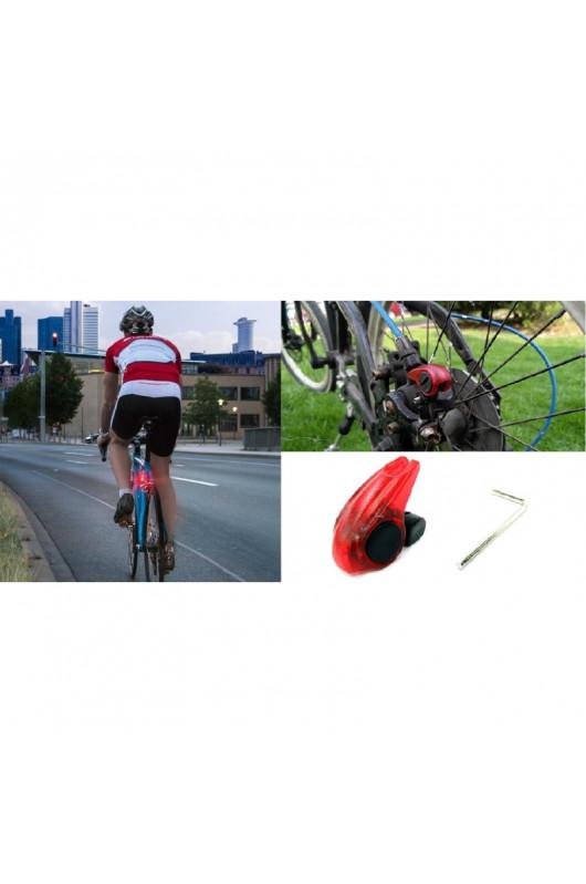 Etc Vélo Vélo DEL Mini Twin Set Feux Rouge//Noir